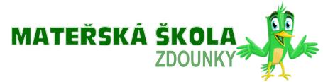 Mateřská škola Zdounky - logo